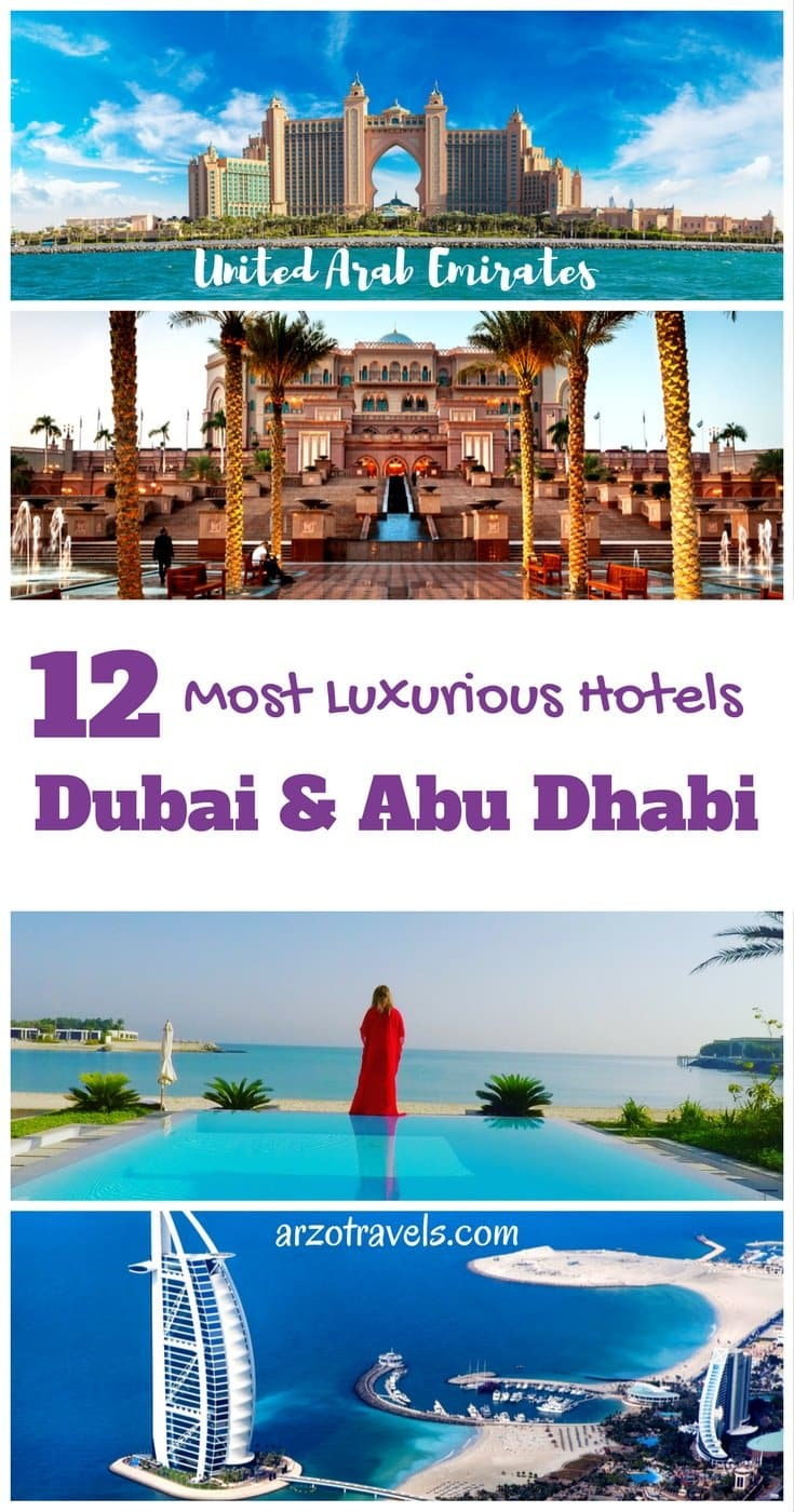 12 Favorite Luxury Hotels in Dubai and Abu Dhabi. The best hotels in UAE.