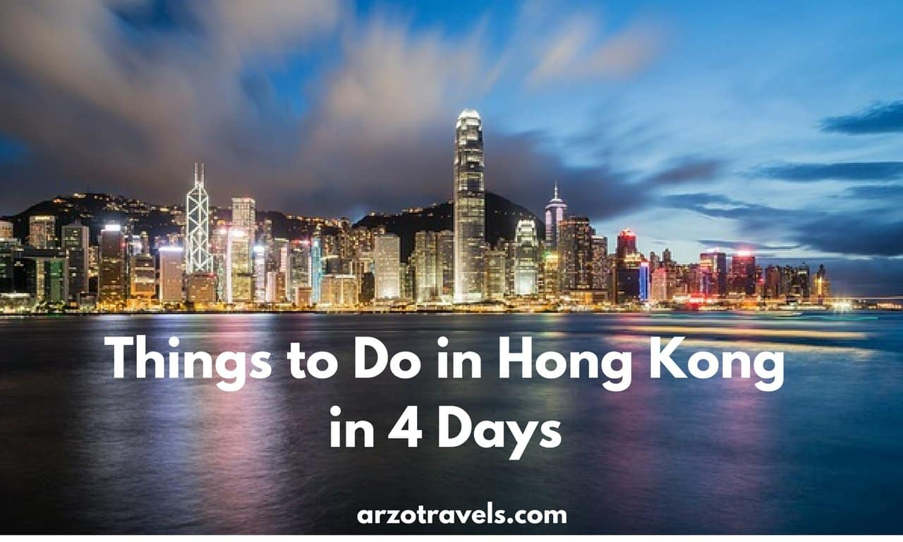 Hong Kong in 4 days- things to do and see