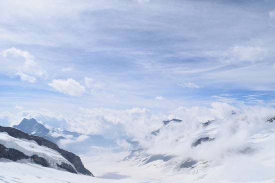 Snow guarantee throughout the year - Jungfraujoch
