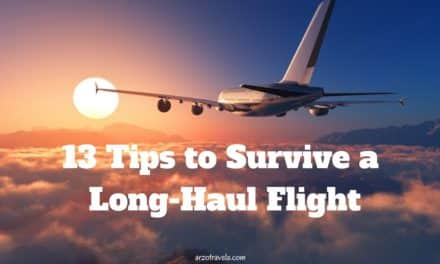 13 Tips for Long Haul Flights