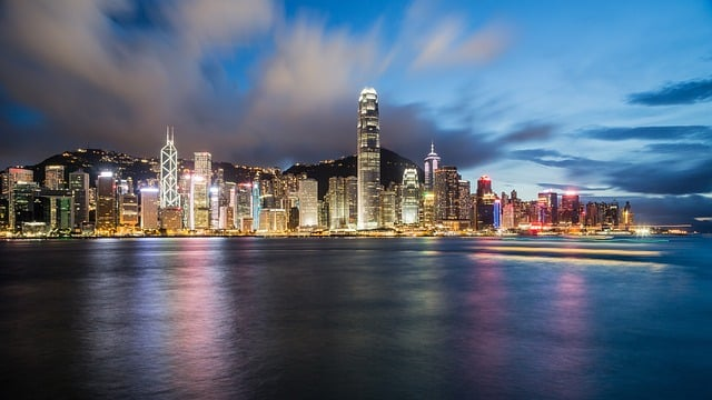 Symphony of lights in Hong Kong - what to do in Hong Kong in 4 days
