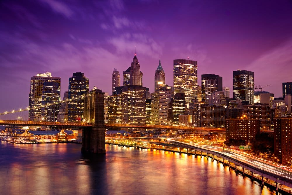 Amazing skyline of New York