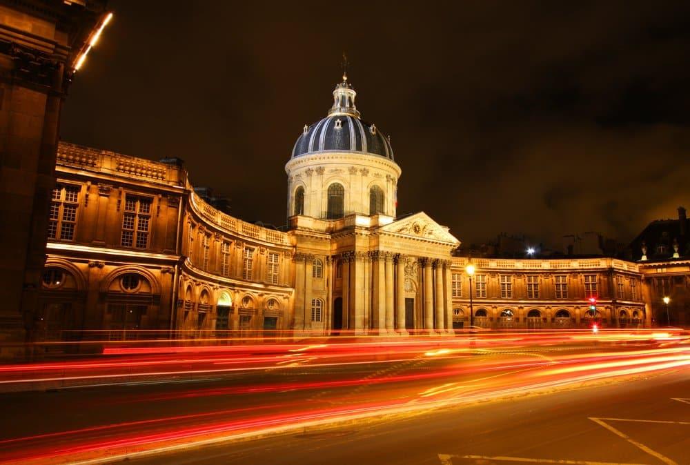 The Institut de France building in Paris @shutterstock_384376210