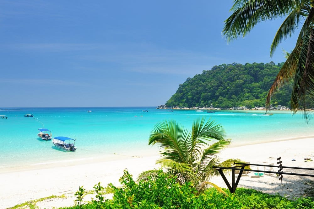 Beautiful beach at Perhentian islands, Malaysia