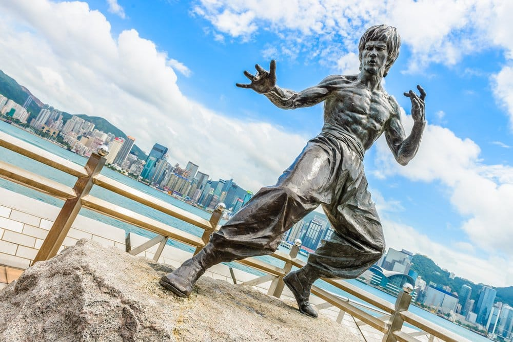 Bruce Lee statue at the Avenue of Stars - Places to visit in Hong Kong