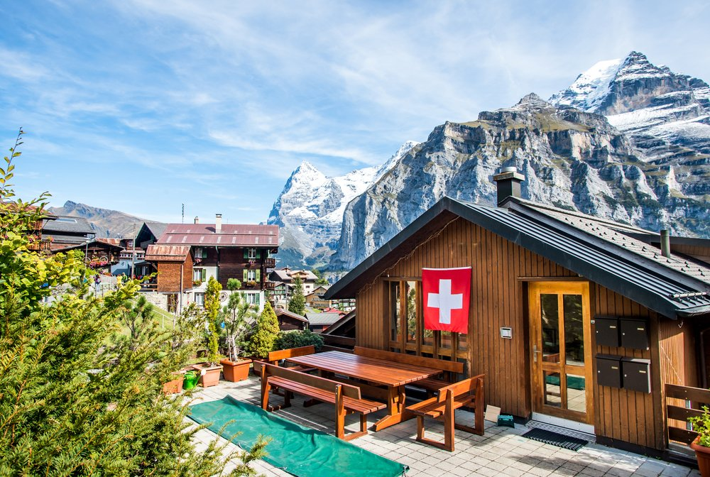 Mürren in Switzerland - where to go in Switzerland
