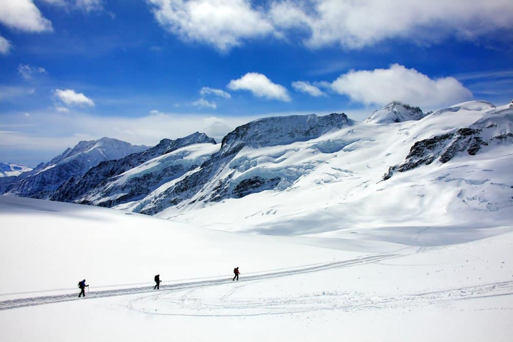 Trekking on the Aletsch Glacier, Interlaken best attractions