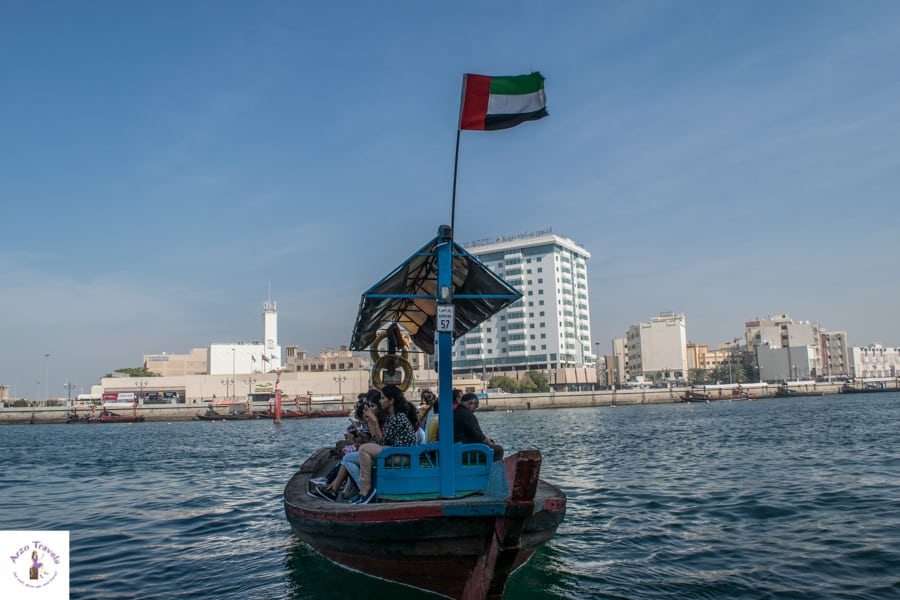Activities in Dubai - ride an abra - Visit Dubai attractions