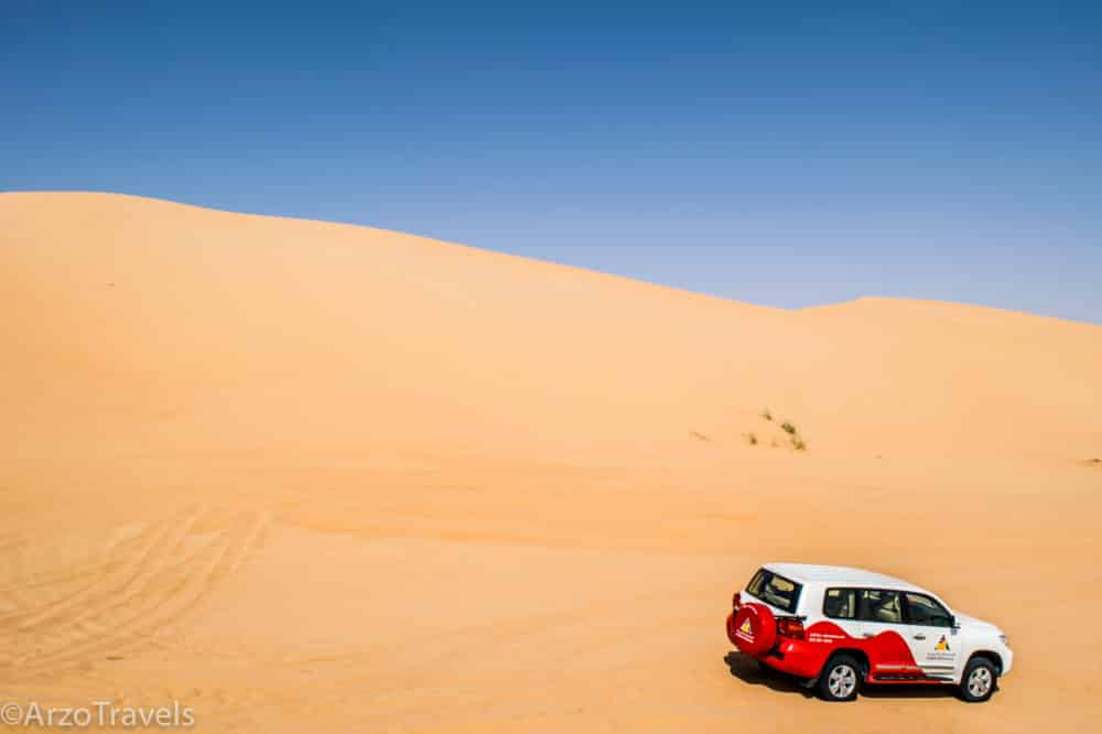 Arzo Travels Desert Safari in Dubai