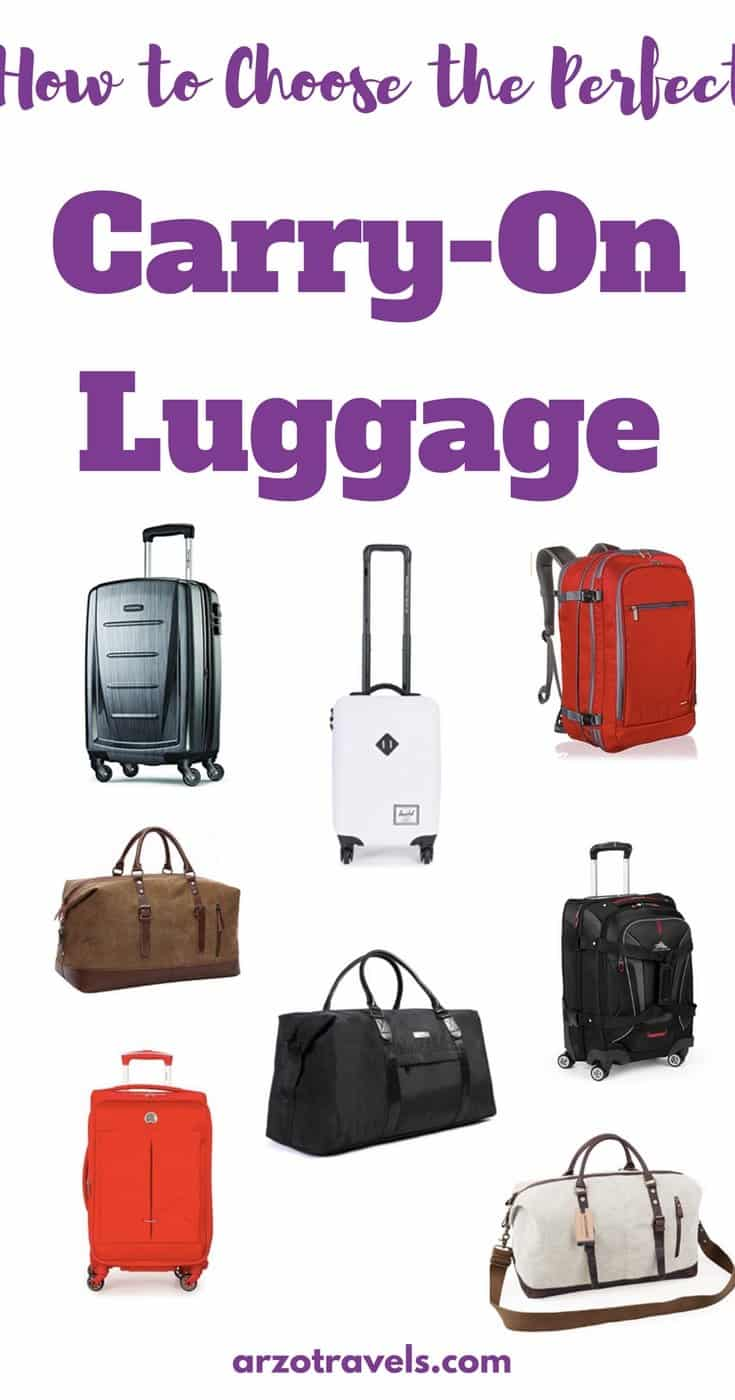 Carry On - how to choose the perfect carry-on for your travels. How to Choose the Perfect Carry-On Luggage
