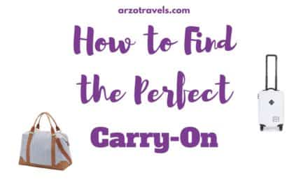 How to Choose the Perfect Carry-On Luggage