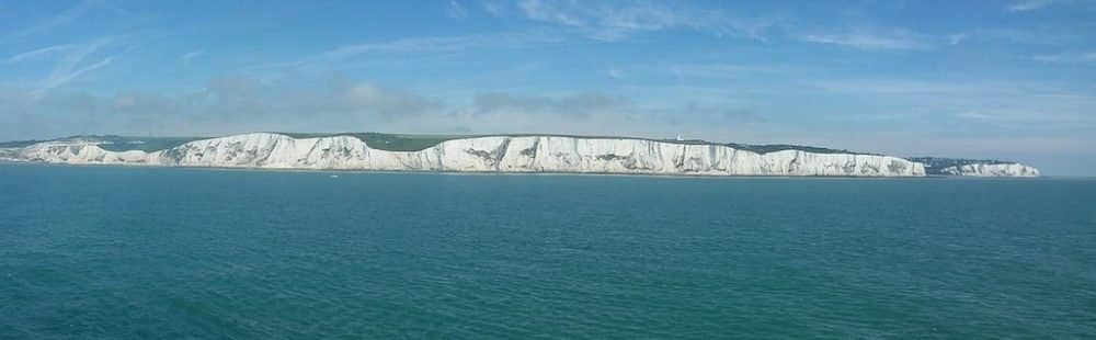 Chalk Cliffs in Dover - The White Cliffs of Dover