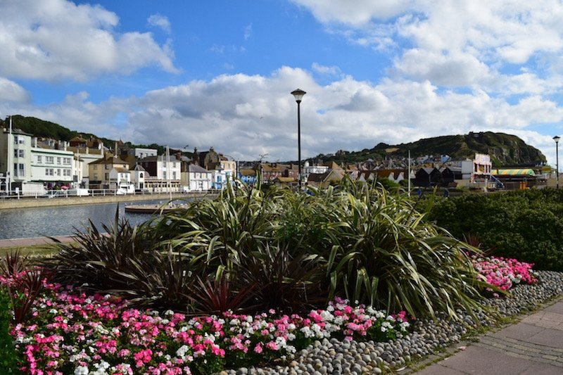 Hastings - a beautiful little town in England