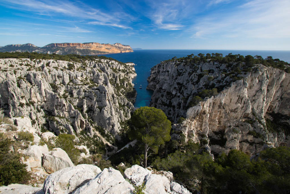 Cassis' Natural Reserve in France