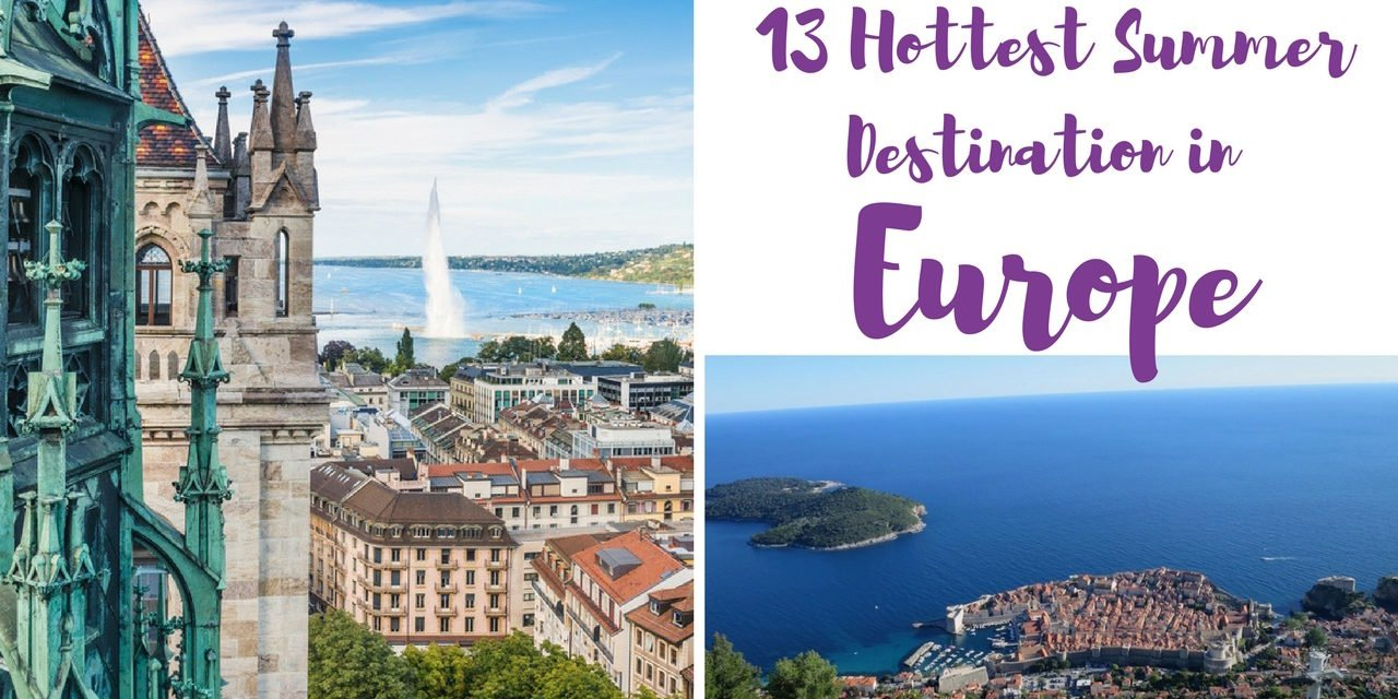 Best Cities to Visit in Europe in Summer