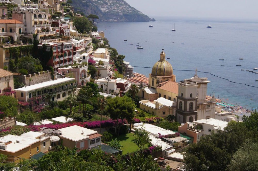 Positano, Amalfi Coast - Photo by Wendy Kerby