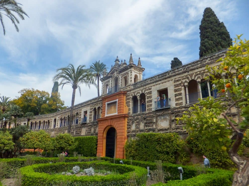 Seville in Spain, Alcazar
