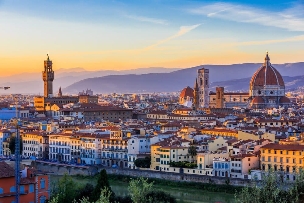Florence- from Piazzale Michelangelo, Italy