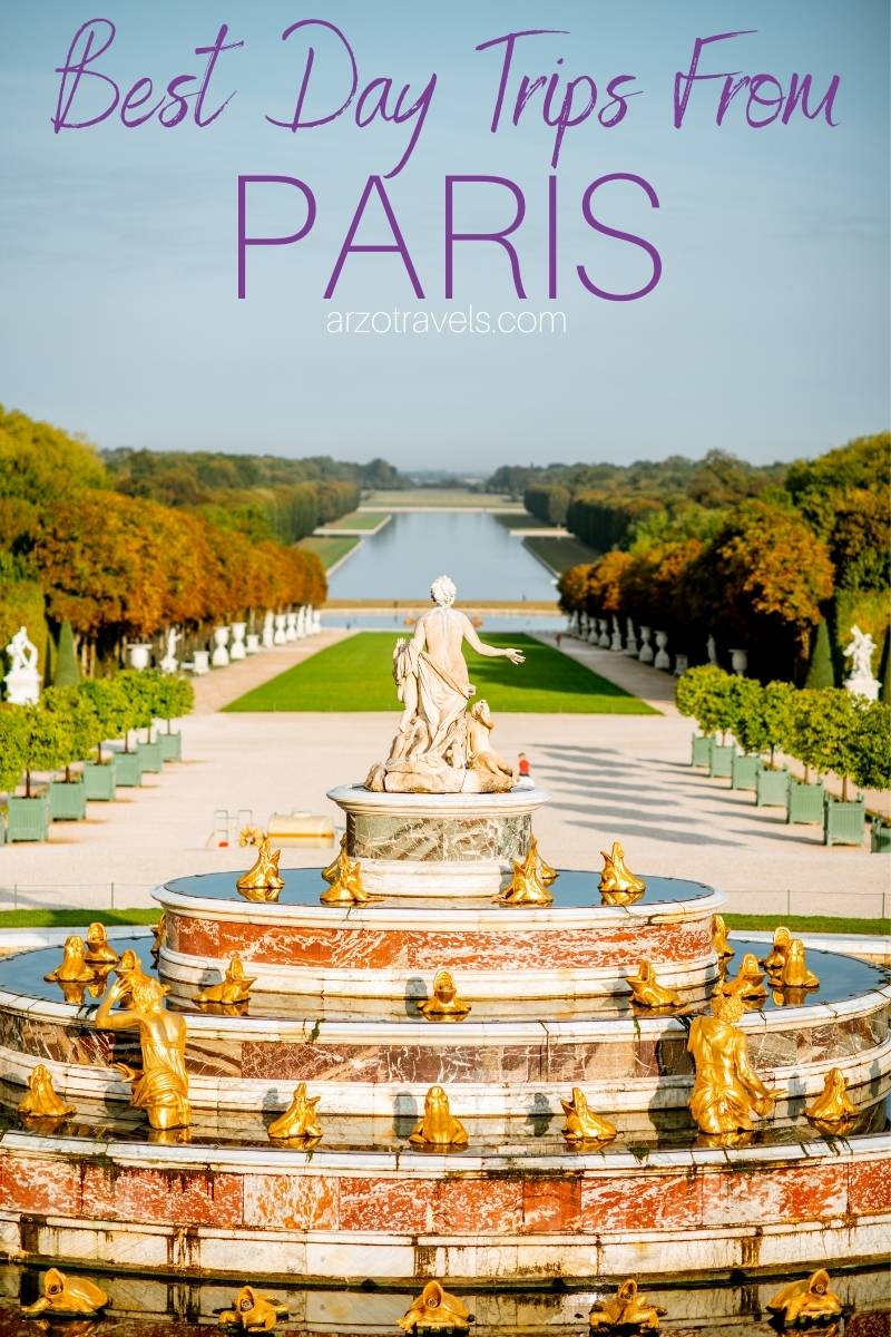 Best day trips from Paris, France