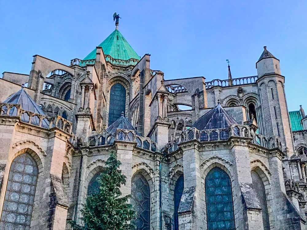 Chartres near Paris