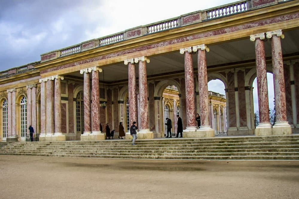 Trianon Castle in Versailles