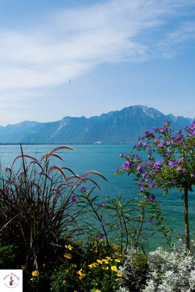 Beautiful Montreux on a sunny day