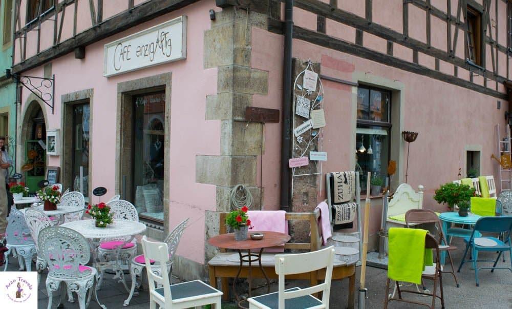 Cafe Einzigartig in Rothenburg odT