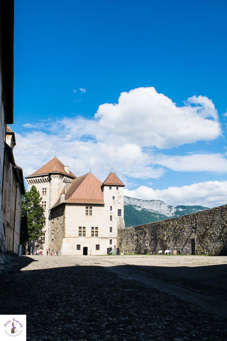 Castle in Annecy