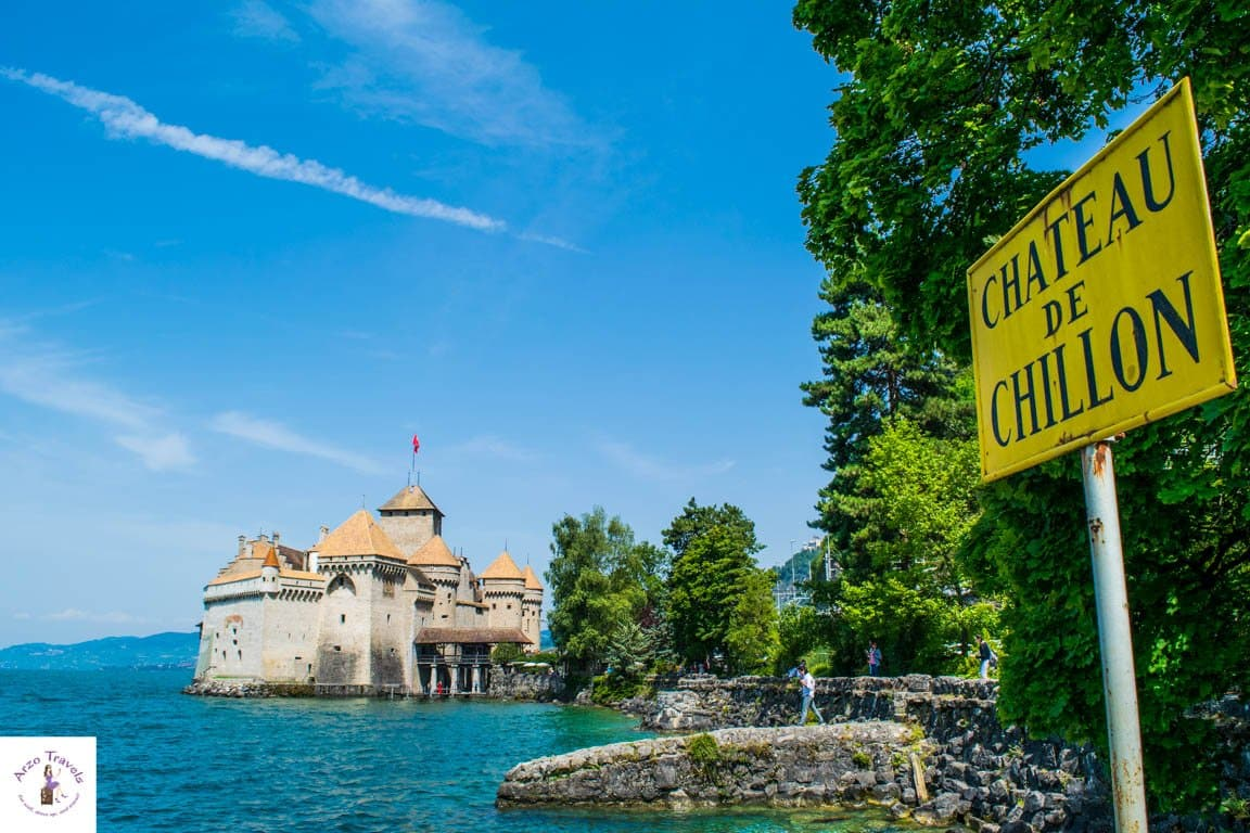 Chateau de Chillion_A must see place in Montreux