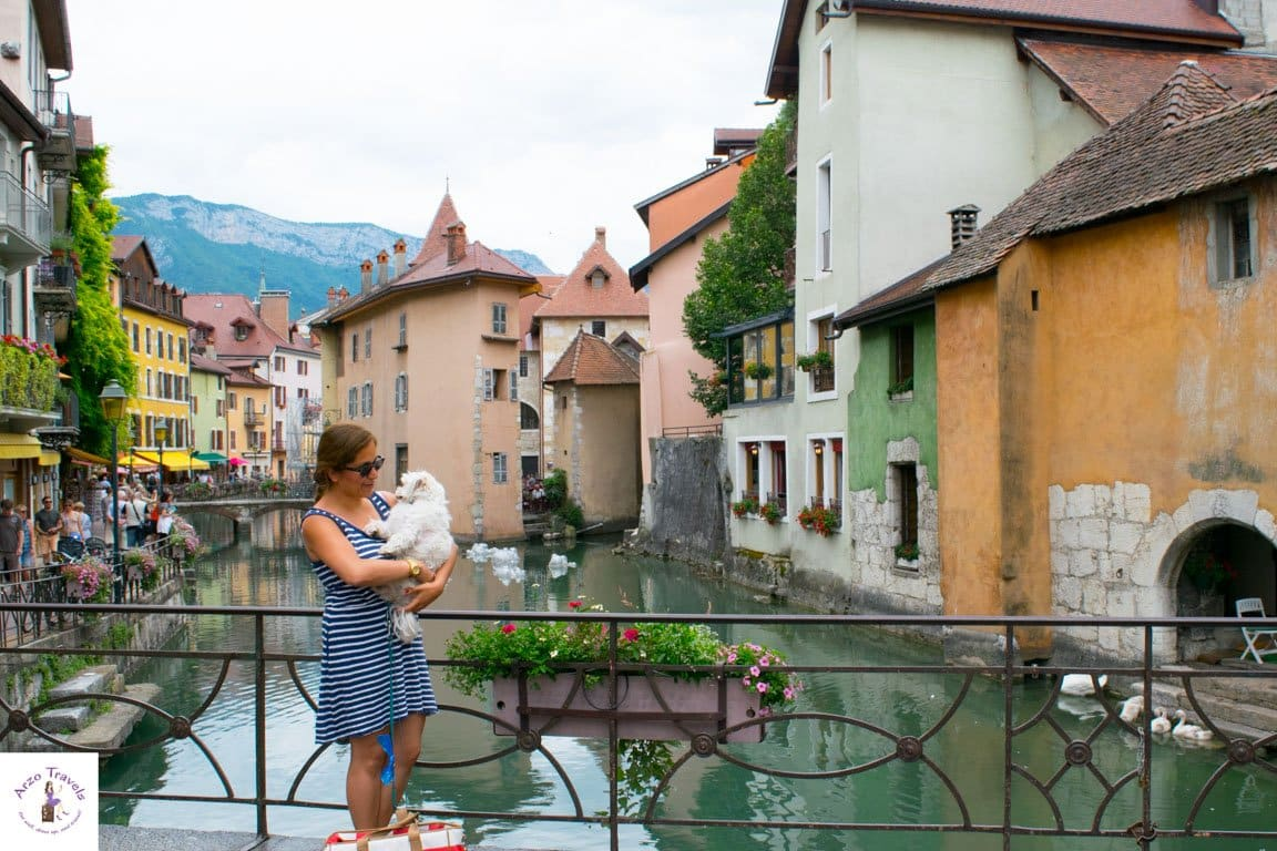 Discovering Annecy with Puppygak