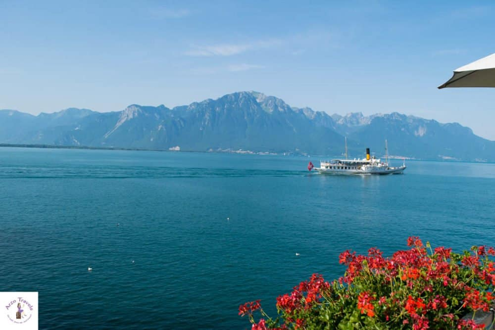 Where to vacation in Switzerland - Lake Geneva