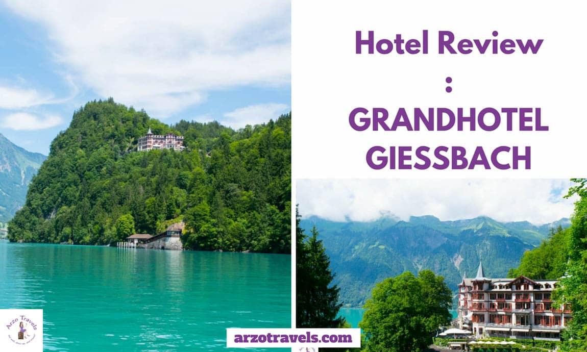 Grandhotel Giessbach in Bring, Interlaken, Switzerland