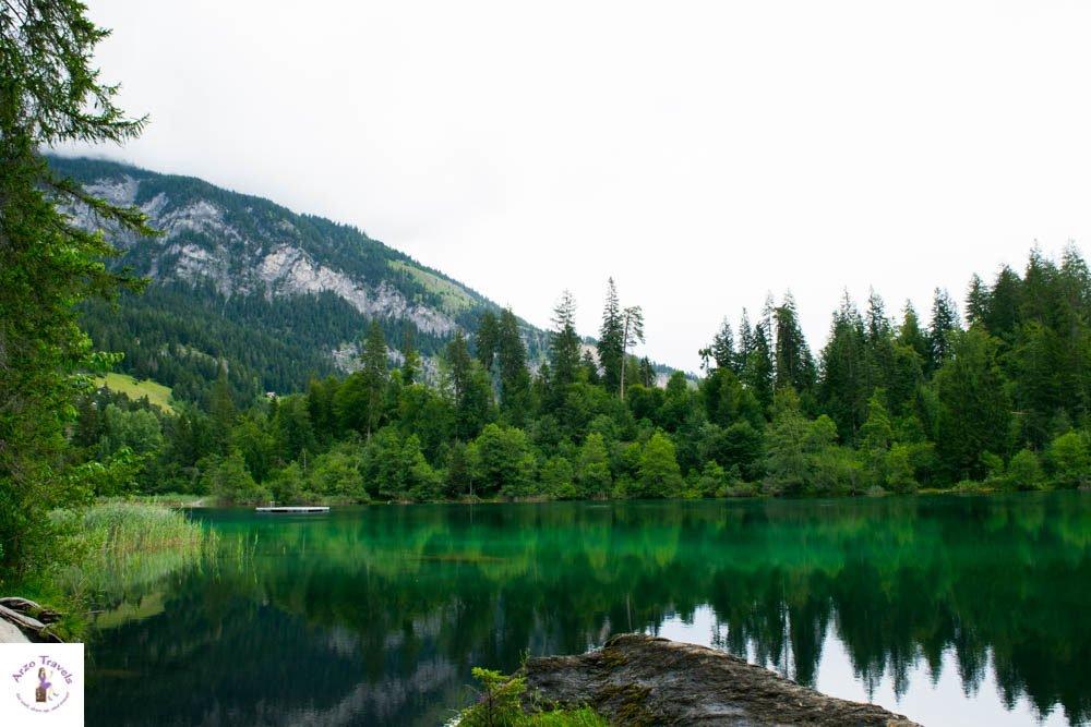 How to get to Lake Cauma in Switzerland