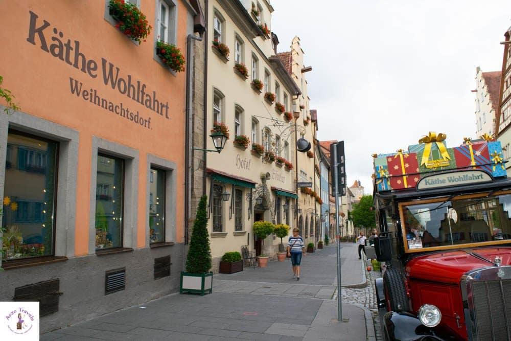 Käthe Wohlfahrt in Rothenburg ob der Taue - Christmas all year