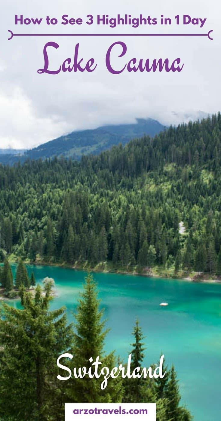Lake Cauma - How to see Lake Cauma, Lake Cresta and the Rhine Gorge in 1 day.