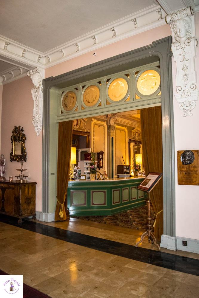 Lobby at Grandhotel Giessbach