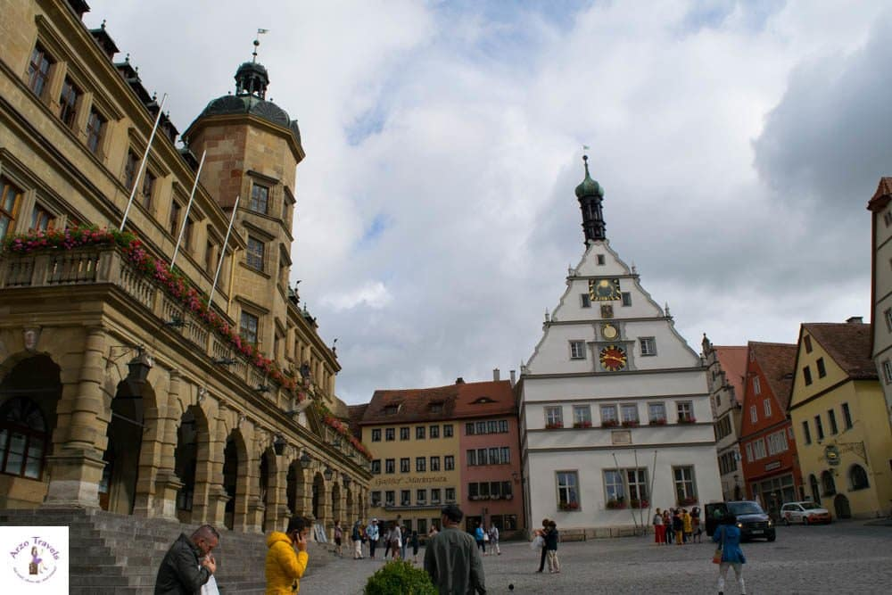 Market Square in Rothenburg ob der Tauber - things to do in Rothenburg ob der Tauber