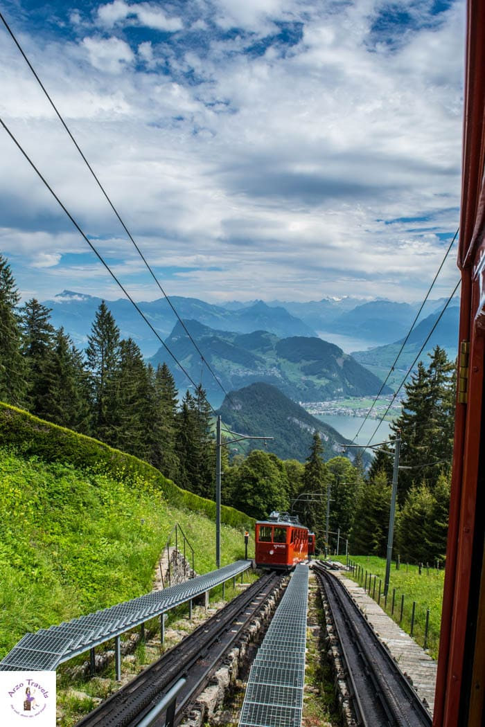 Mount Pilatus with the Swiss Travel Pass