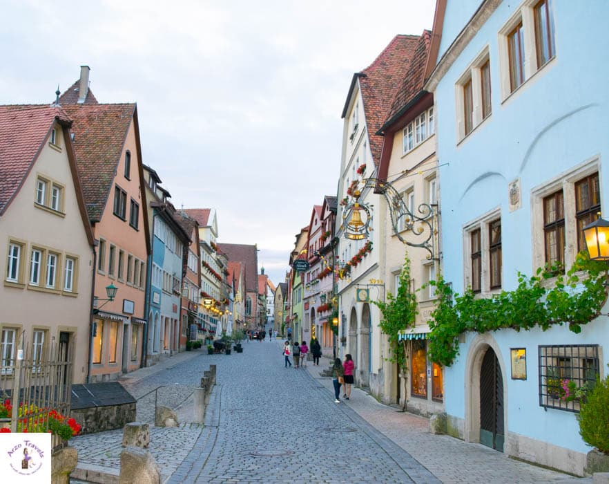Pretty Rothenburg - old town - best things to do in Rothenburg Germany