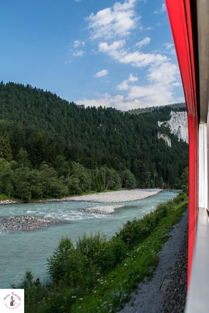 Rhine Gorge in Graubünden