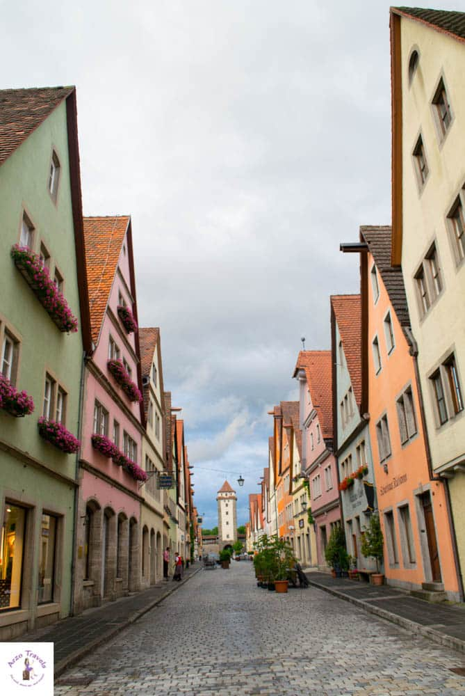 Rothenburg ob der Tauber - getting lost in its streets