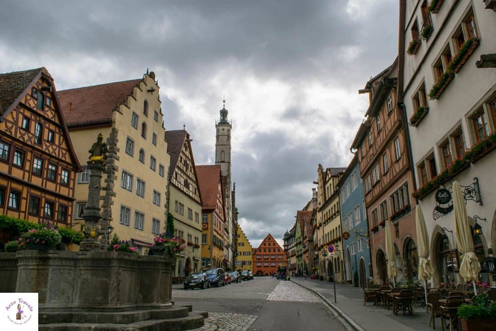 Rothenburg in one day- an itinerary