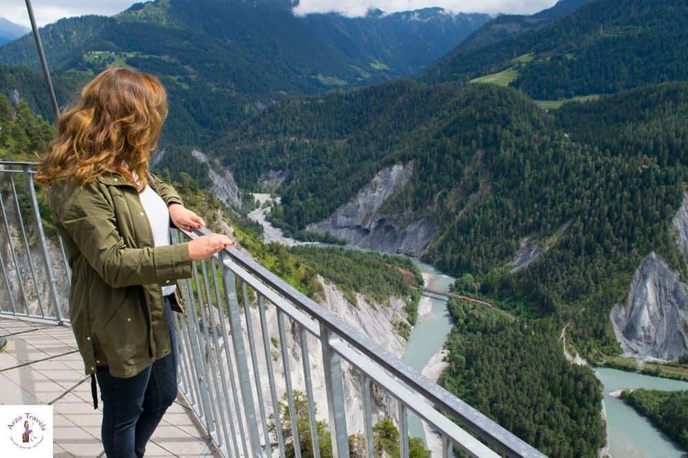 Viewing Platform Conn in Graubünden