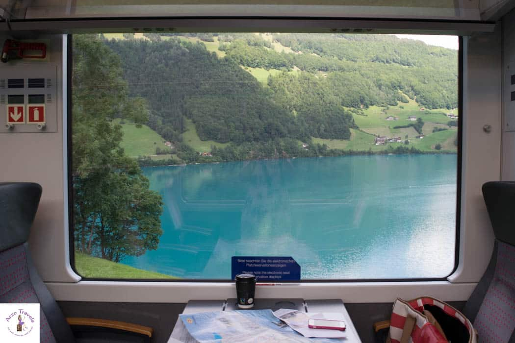 Window View Zurich - Lucerne - Arzo Travels