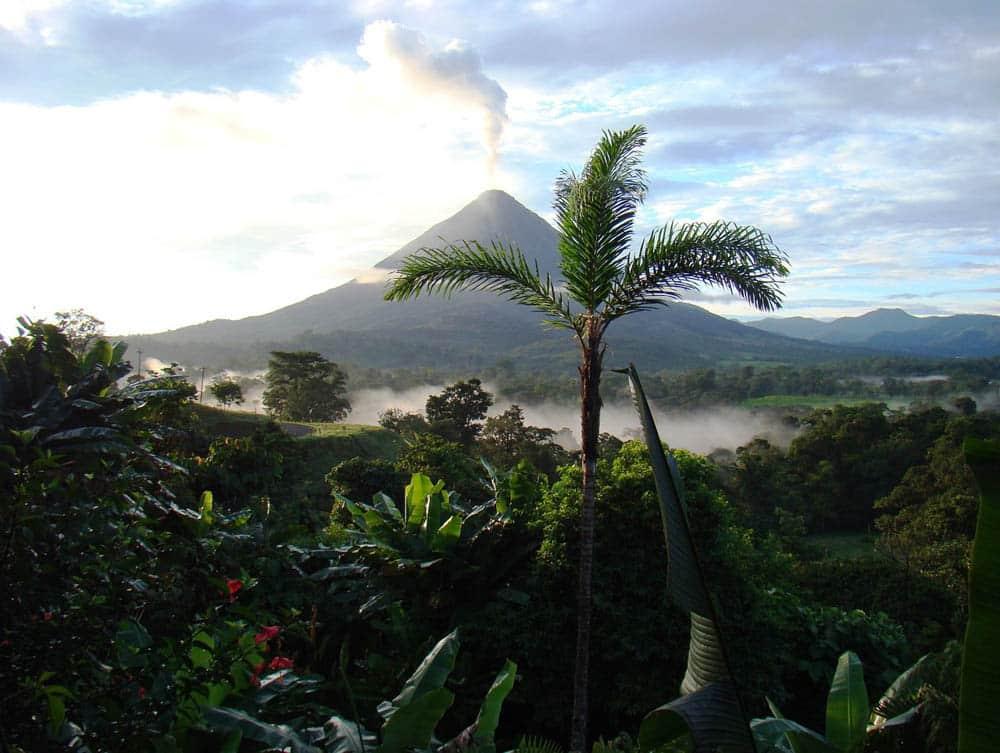Volcano Hike in Costa Rica