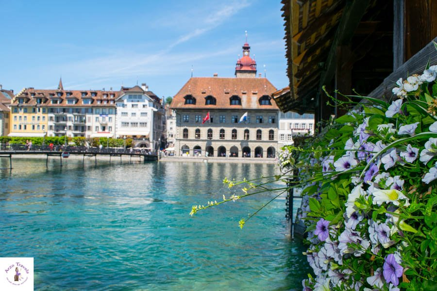 Best things to do in Lucerne - Chapel Bridge in Lucerne