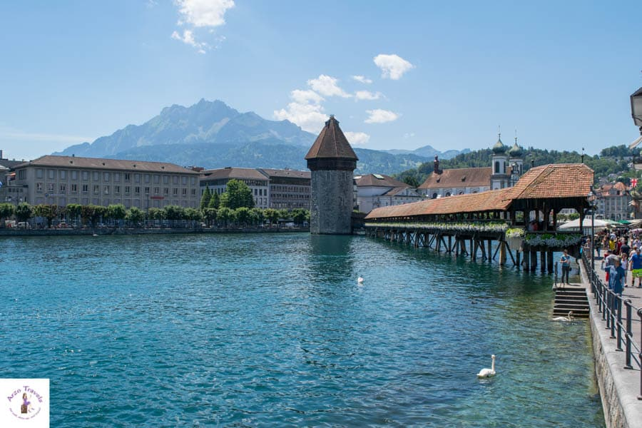 lucerne things to do - visit the Chapen Brigde