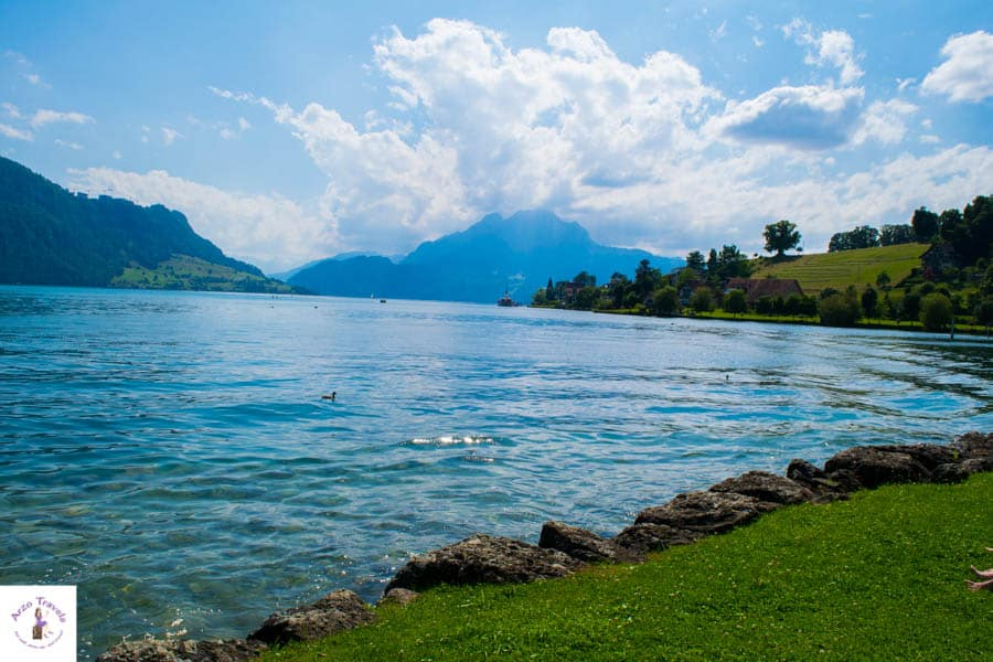 Wedges - Relax at Lake Lucerne without the crowd