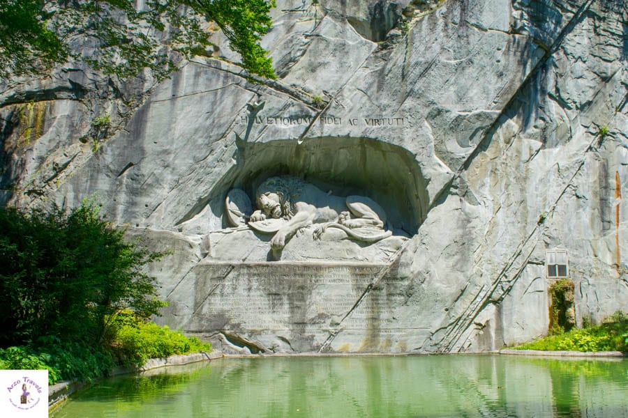 Dying Lion Monument- One of the tops things to do in Lucerne - Lucerne attractions