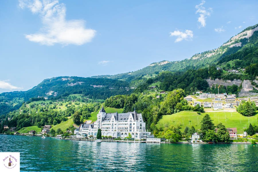 Most Expensive Hotel in the region Park Hotel Vitznau Lucerne Hotels